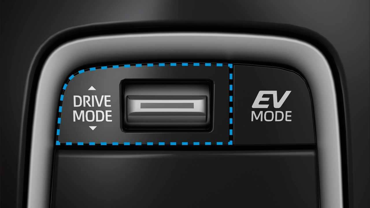Suzuki Swace Hybrid EV Mode Switch
