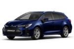 Suzuki Swace Hybrid Aussansicht blau
